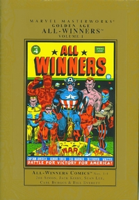 Marvel Masterworks: Golden Age: All-Winners, Vol. 1 (HC)
