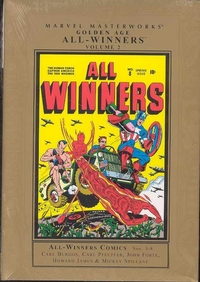 Marvel Masterworks: Golden Age: All-Winners, Vol. 2 (HC)