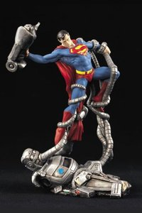 Man vs. Machine! Superman '98 Statue