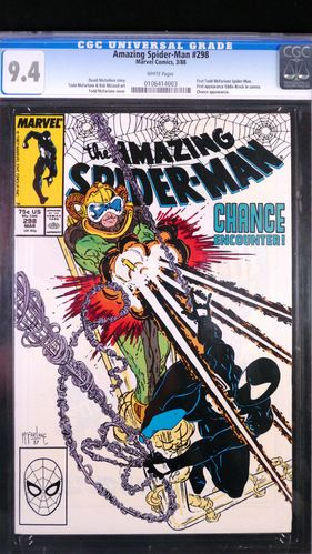 Amazing Spider-Man # 298, CGC 9.4, white pages