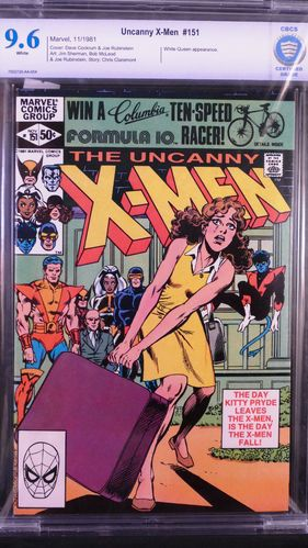 Uncanny X-Men # 151, CBCS certified grade 9.6, white