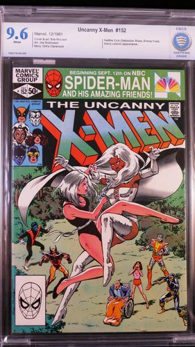 Uncanny X-Men # 152, CBCS certified grade 9.6, white