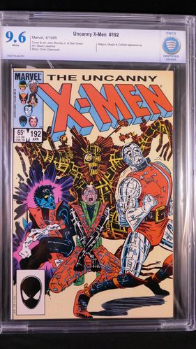 X-Men # 192, CBCS certified grade 9.6, white