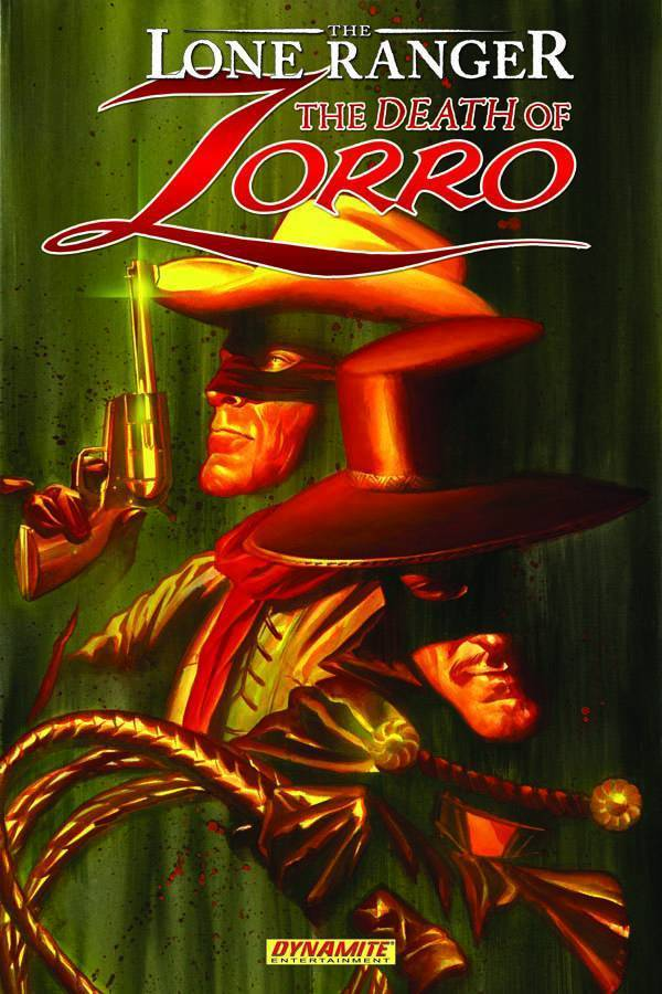 The Lone Ranger/Zorro: The Death Of Zorro (SC)