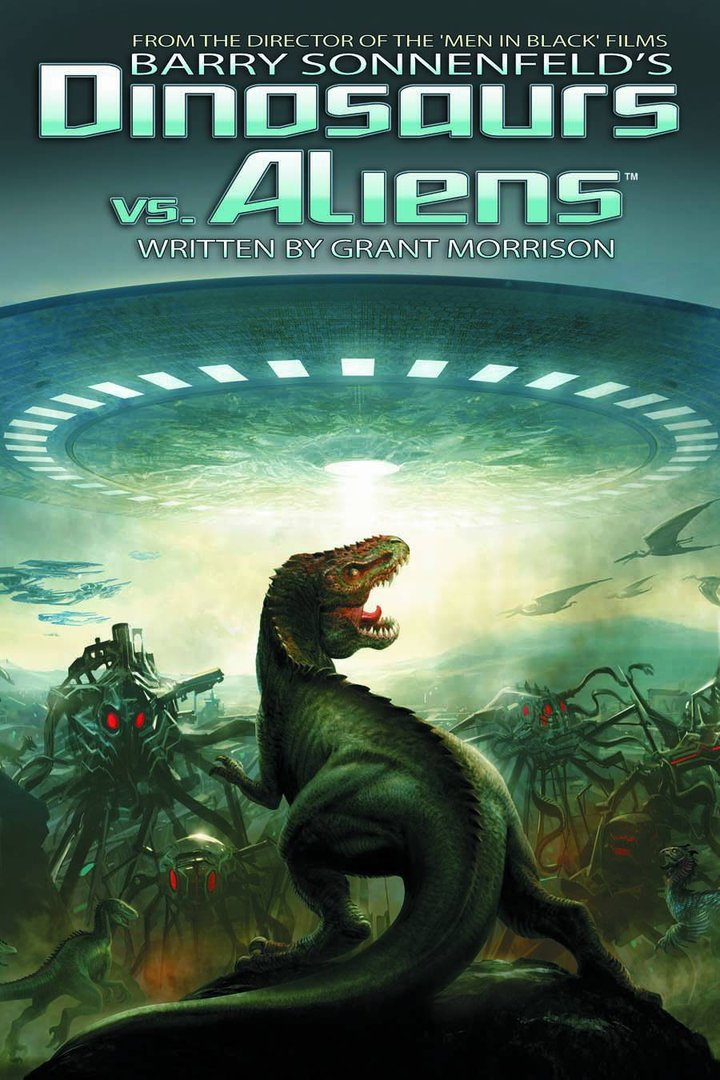 Barry Sonnenfeld's Dinosaurs Vs Aliens (HC)