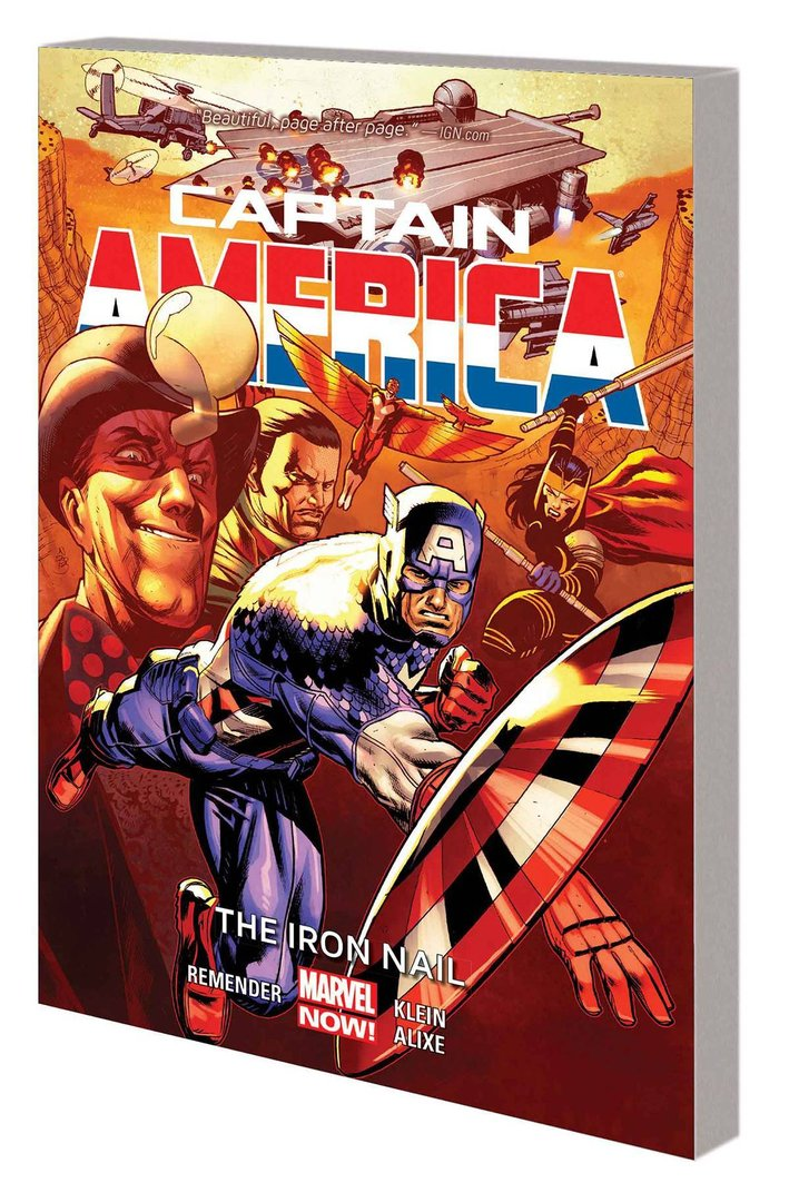 Captain America, Vol. 4: The Iron Nail (Marvel Now) (SC)