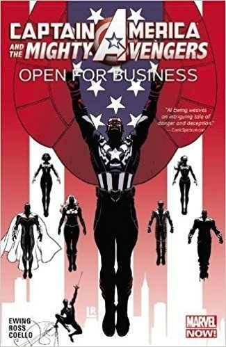 Captain America and The Mighty Avengers, Vol. 1: Open for Business (SC)