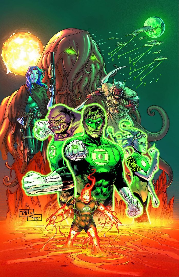 Green Lantern, Vol. 5: Test of Wills (The New 52) (HC)