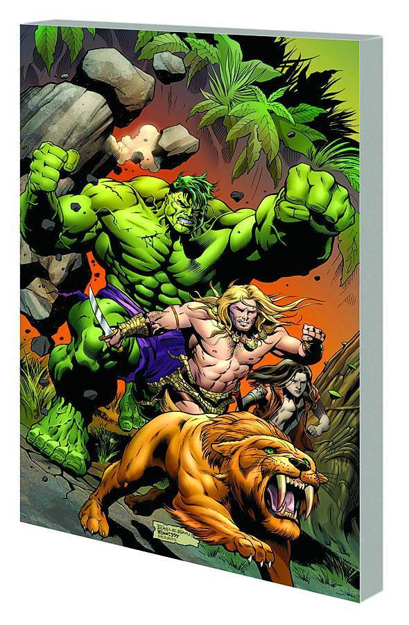 Incredible Hulks: Planet Savage (SC)