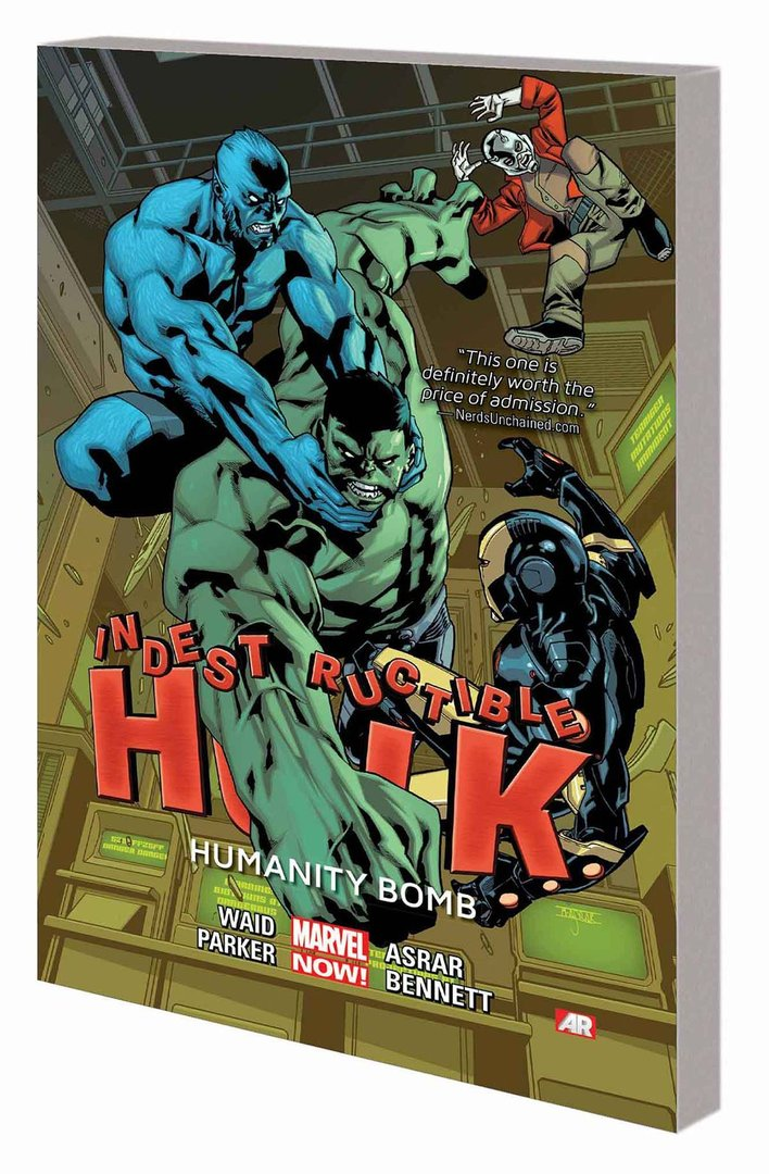 Indestructible Hulk, Vol. 4: Humanity Bomb (SC)