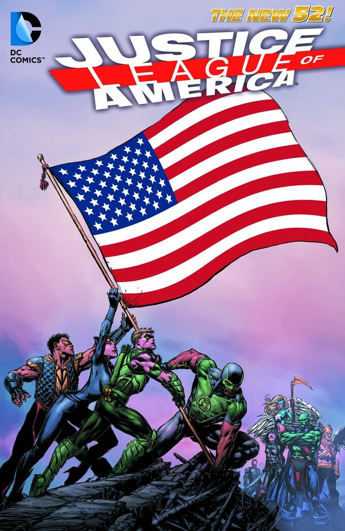 Justice League of America, Vol. 1: World's Most Dangerous (The New 52) (SC)
